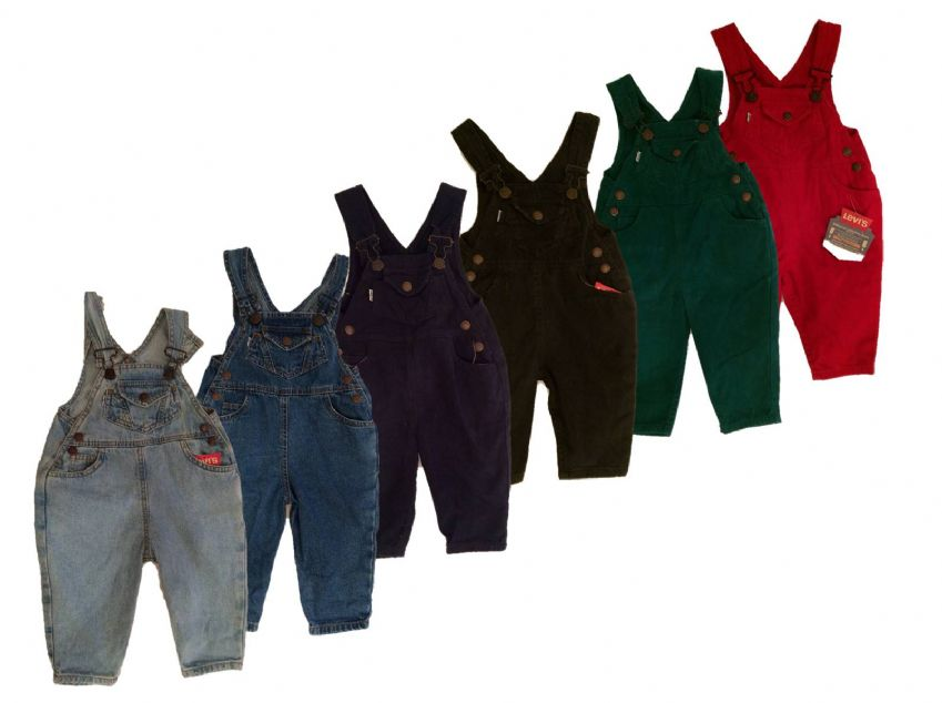 Boys Levis Dungarees- River Denim 100% Authentic, New With Tags, Free Shipping